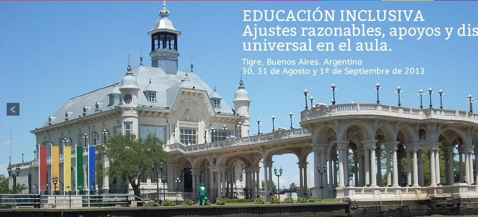 Congreso argentino y regional de Educación Inclusiva