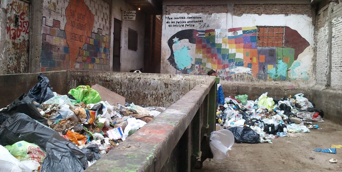 """Informe """"La discusión de los residuos en las villas"""""""