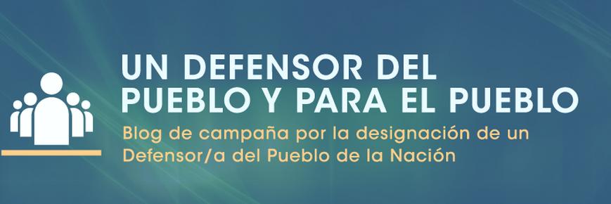 ONG piden audiencia temática a la CIDH sobre la acefalía en Defensoría del Pueblo de la Nación