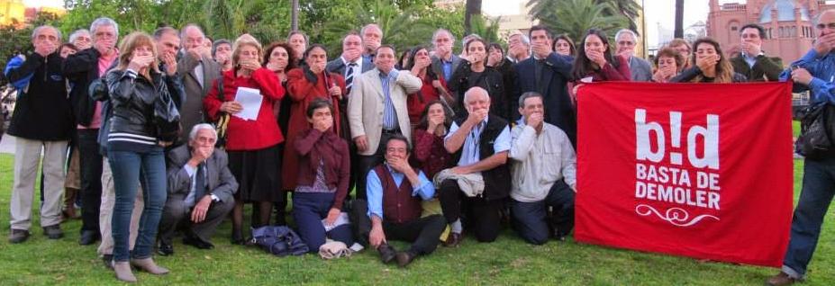 Adhesión al comunicado de rechazo a la demanda contra Basta de Demoler, Santiago Pusso y Sonia Berjman