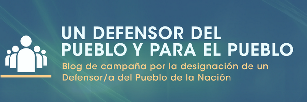 ONGs presentan una acción judicial para que el Congreso de la Nación designe al Defensor/a del Pueblo