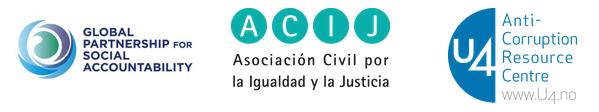 Foro virtual sobre colaboración entre sociedad civil e instituciones de rendición de cuentas
