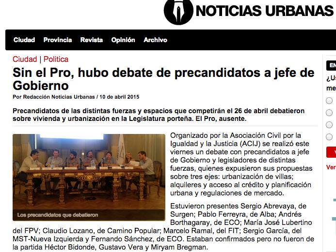 Sin el Pro, hubo debate de precandidatos a jefe de Gobierno