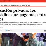 Educación privada: los subsidios que pagamos entre todos