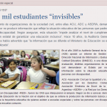 "100 mil estudiantes ""invisibles"""