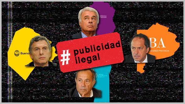 ACIJ y Poder Ciudadano lanzan la campaña #Publicidadilegal contra el uso electoralista de la publicidad oficial