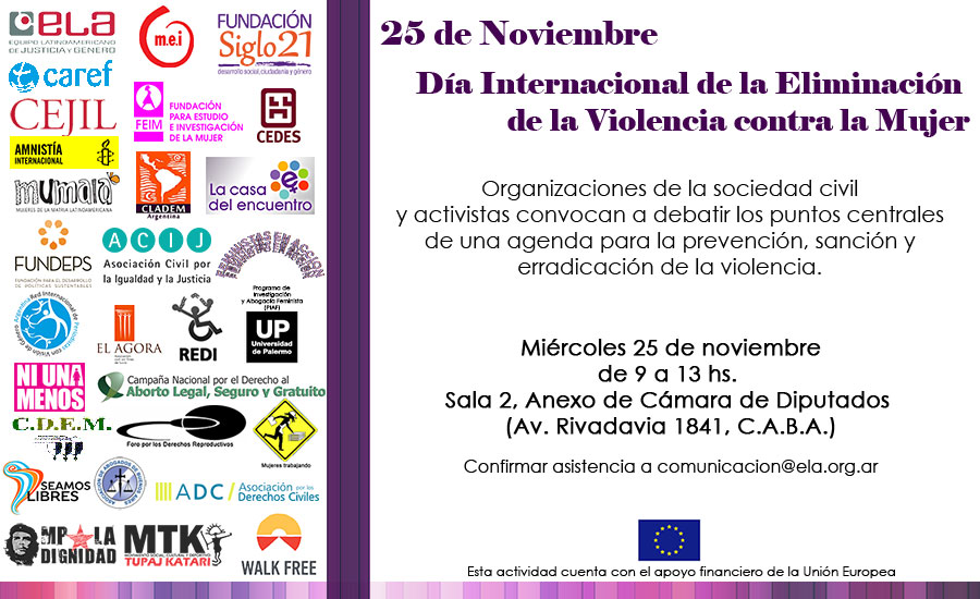 Derecho a una vida libre de violencia #NiUnaMenos Todos los días