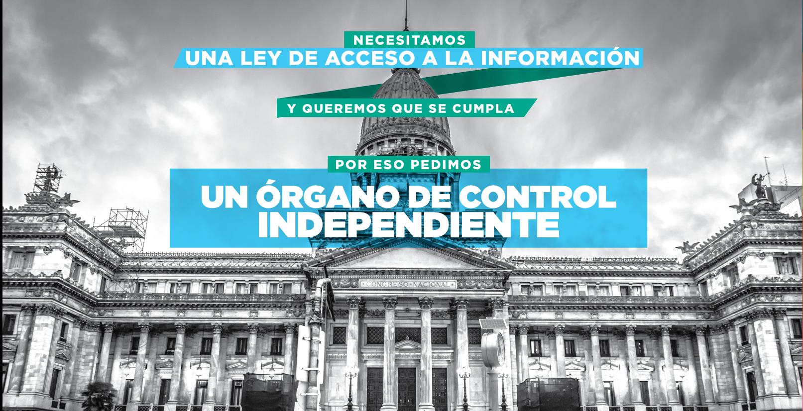 El órgano de control de la Ley de Acceso a la Información debe ser independiente