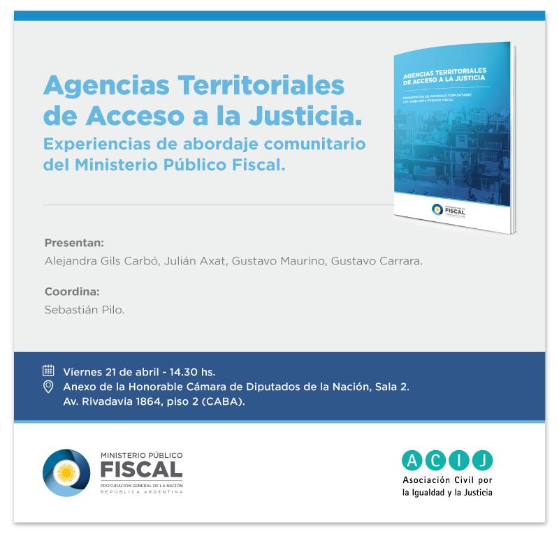 Evento – Agencias Territoriales de Acceso a la Justicia