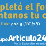 Barreras en el acceso a la educación inclusiva para personas con discapacidad