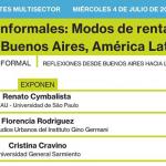 WEBINARIO | INQUILINOS INFORMALES: MODOS DE RENTA DE ALOJAMIENTOS VULNERABLES