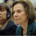 Con impugnaciones de organismos de DDHH, Weinberg de Roca se presenta ante el Senado