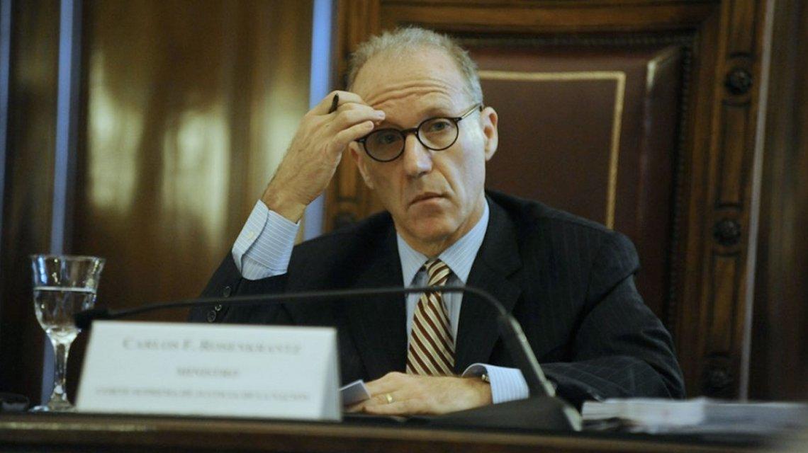 Le reclaman a Rosenkrantz que dé a conocer el patrimonio de los jueces de la Corte