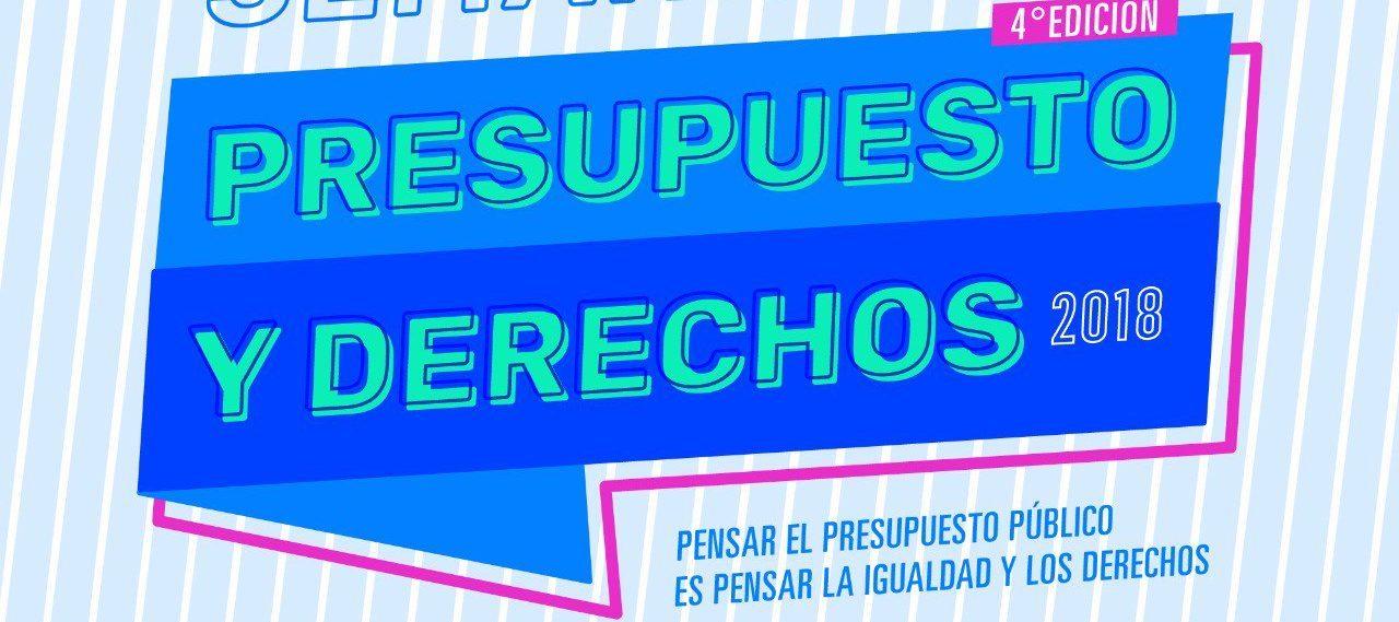 """SEMANA """"PRESUPUESTO Y DERECHOS"""" – 2018"""