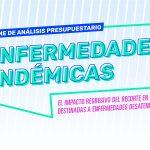 """Informes de la """"Semana Presupuesto y Derechos"""" – 2018 - Enfermedades endémicas"""