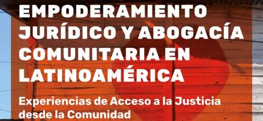 LIBRO | Empoderamiento jurídico y abogacía comunitaria en Latinoamérica