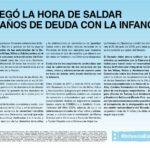 Piden la designación de las autoridades de la Defensoría de Niñas, Niños y Adolescentes