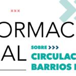 Coronavirus: información legal sobre circulación en barrios populares