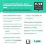 Conversatorio regional sobre tributación con enfoque de género
