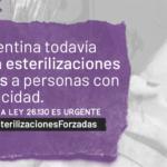 Presentamos la iniciativa #BastaDeEsterilizacionesForzadas a personas con discapacidad