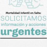 SALTA | Ante la alarmante situación de mortalidad infantil, solicitamos a organismos provinciales y nacionales información pública que permita tomar acciones urgentes