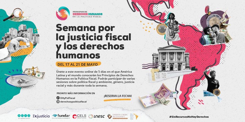 Semana por la Justicia Fiscal y los Derechos Humanos