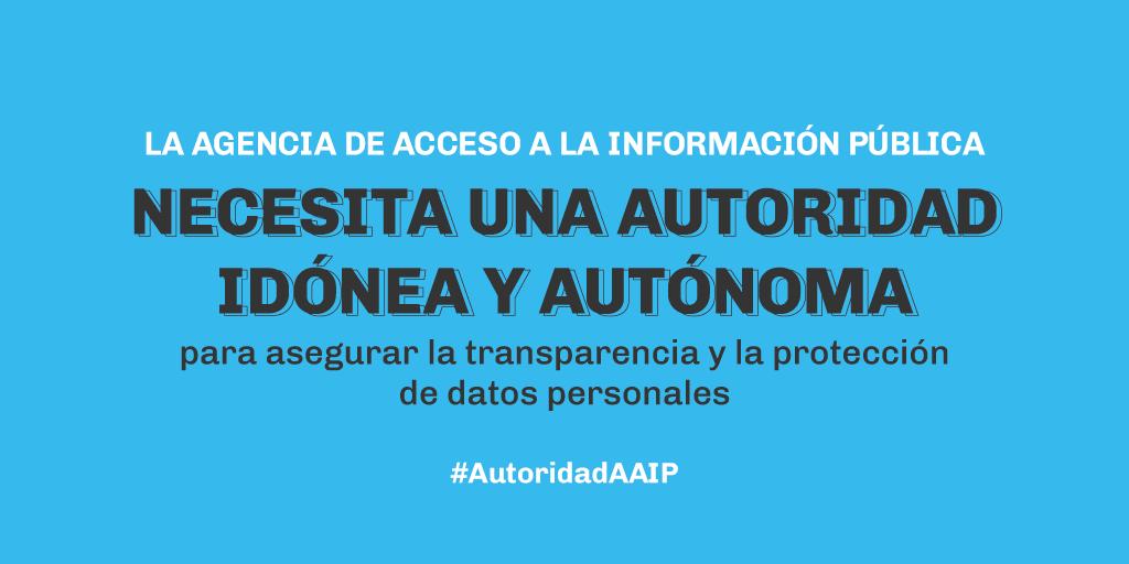Agencia de Acceso a la Información Pública: organizaciones solicitan reunión al Jefe de Gabinete para impulsar nueva autoridad