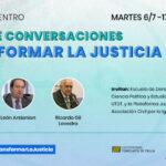 """Ciclo de Conversaciones """"Transformar la Justicia"""""""