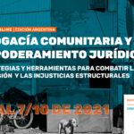 CURSO ONLINE | Abogacía comunitaria y Empoderamiento jurídico (edición argentina)