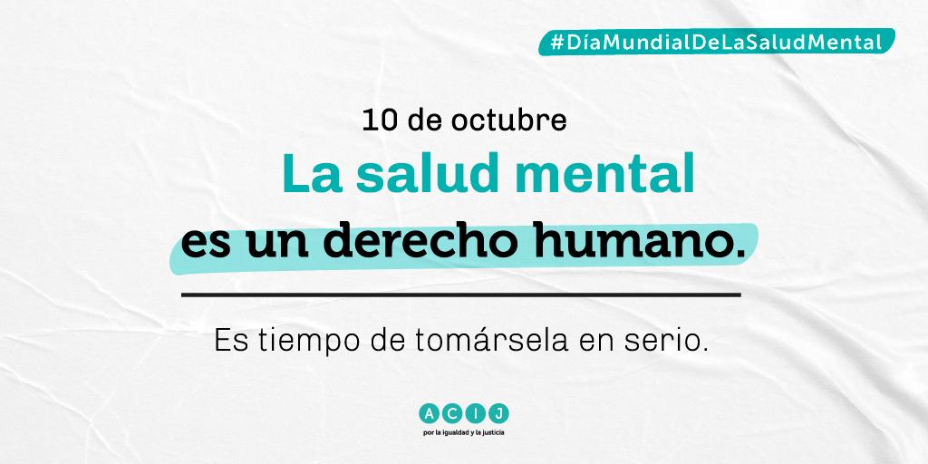 Exigimos al Estado argentino que priorice la atención de la salud mental en sus políticas